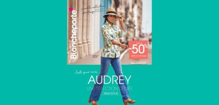 Blancheporte envoie un catalogue unique personnalisé à 50 000 clientes