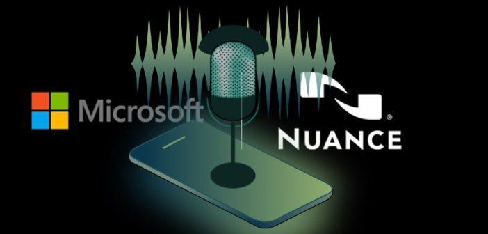 Microsoft s'offre la reconnaissance vocale de Nuance pour 19,7 Md$