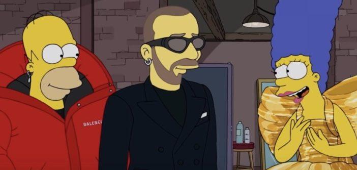 Pour la Fashion Week de Paris, les Simpson s'habillent en Balenciaga
